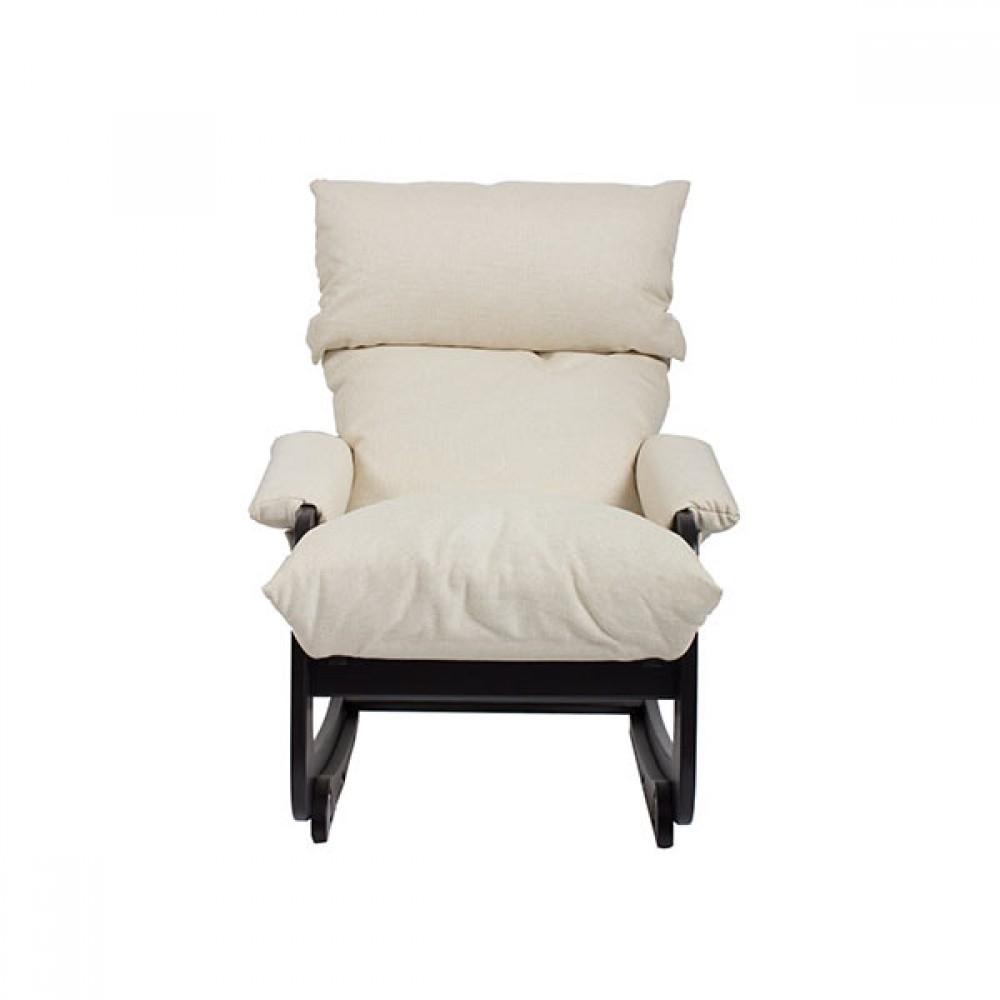 Кресло-трансформер Модель 81 (с откидывающейся спинкой и регулируемым подголовником) Венге/Манго 002 - 6156