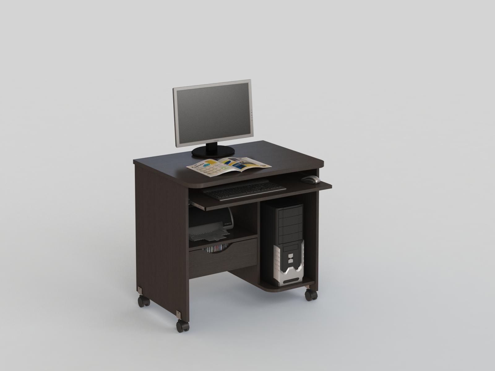 Стол компьютерный КС 20-06 Венге  - 3841
