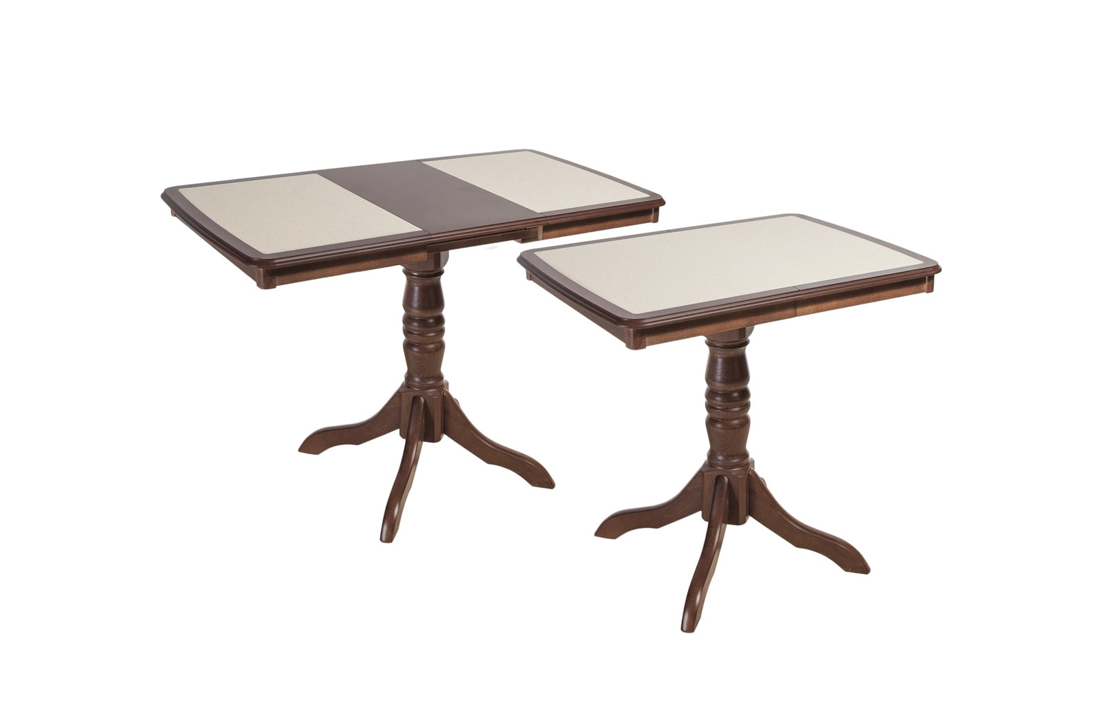 Стол обеденный Эдельвейс МП с КАМНЕМ - 5837