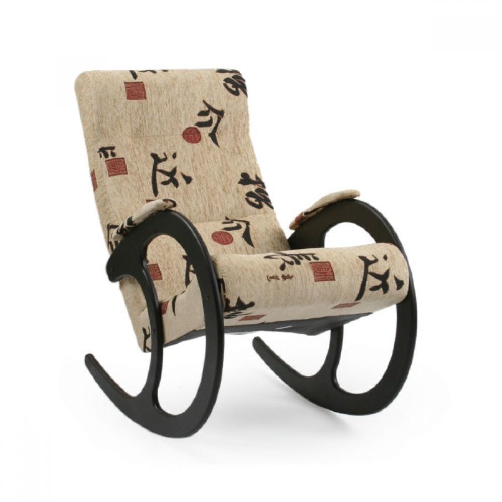 Кресло-качалка, Модель 3 Венге/Токио - 6128