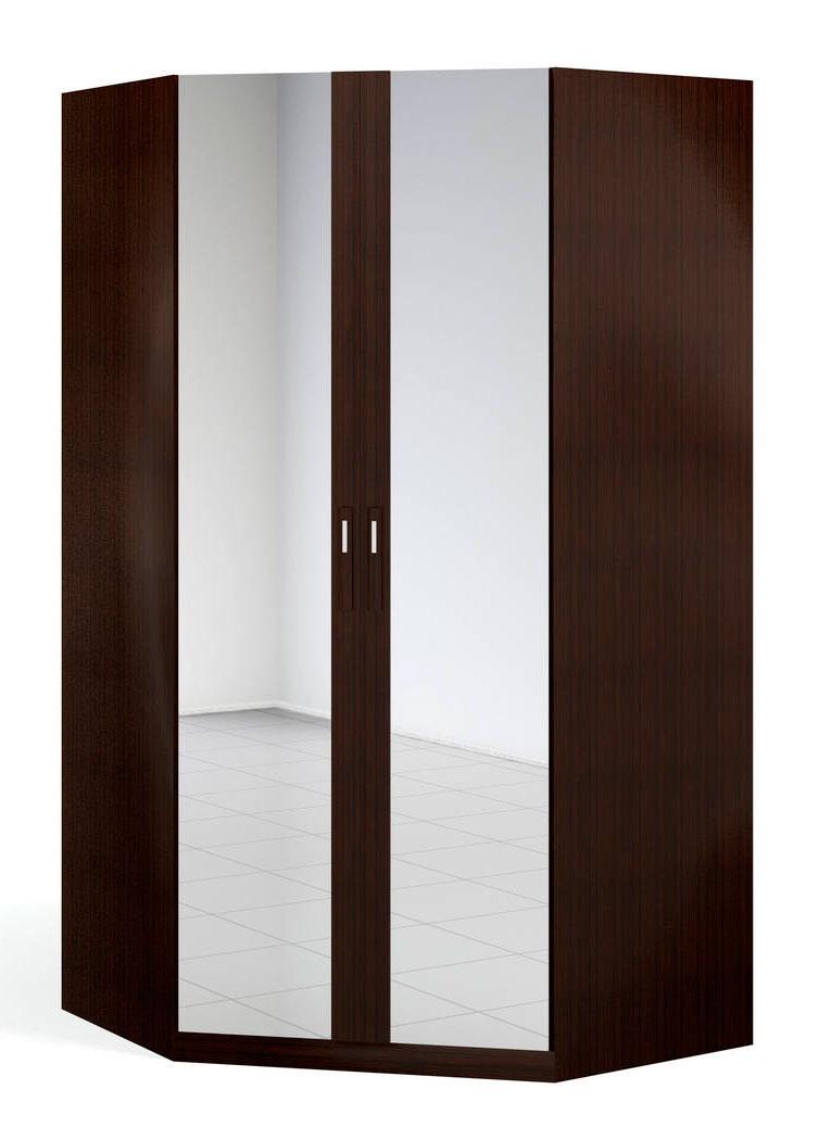 """""""Блюз"""" Шкаф угловой 2-дверный  с 2-мя  зеркалами - 3170"""