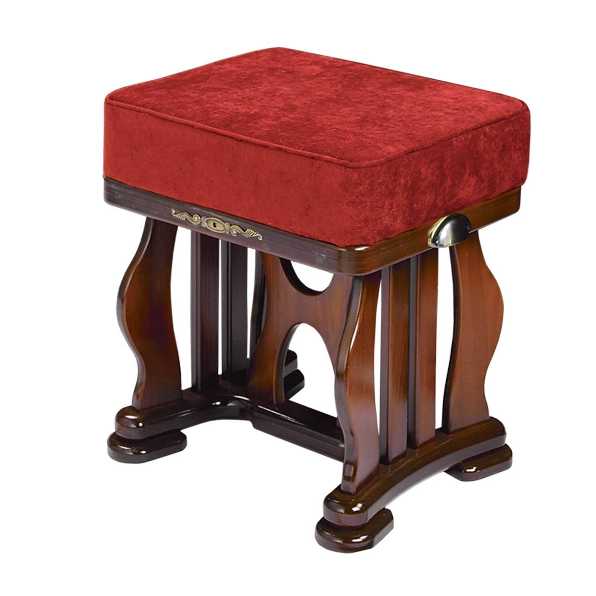 Банкетка «Джульетта» цвет Орех, тк.Бурый - 5910