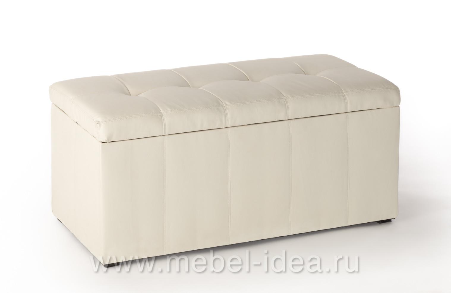 Пуф ПФ-3 белый - 3758
