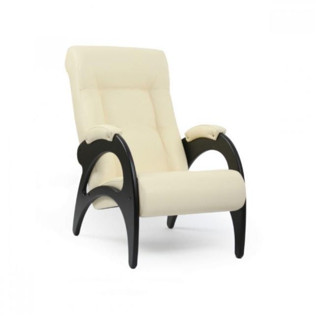 Кресло для отдыха, Модель 41 (без декоративной косичкой) Венге/Манго 002 - 6080