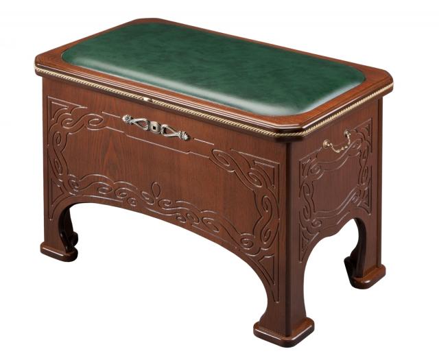 Банкетка «Консул» цвет Орех, тк.экокожа - 5913