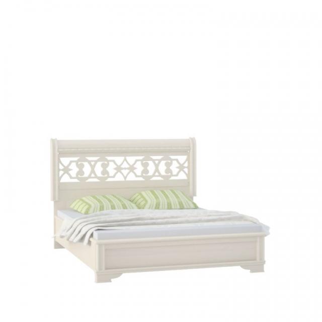 """""""Diamante Ясень"""" Кровать 2 спальная (G86 не подходит) (1600мм) - 5150"""