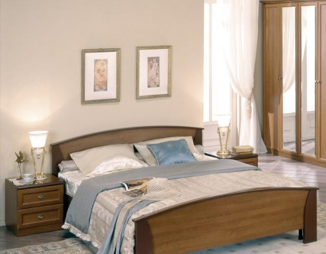 Спальня Соната орех - 6537