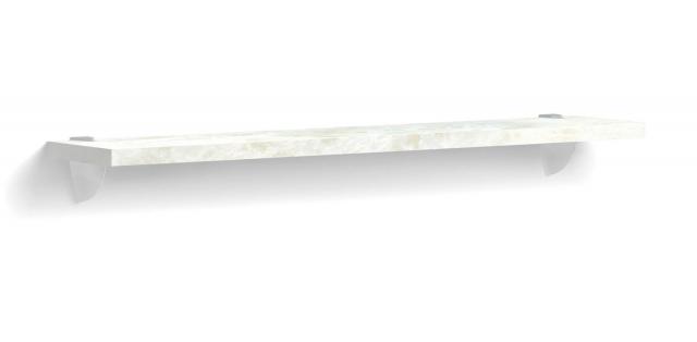 Ария Светлая Полка навесная  на пеликанах1200  703.ПК120-B - 4134