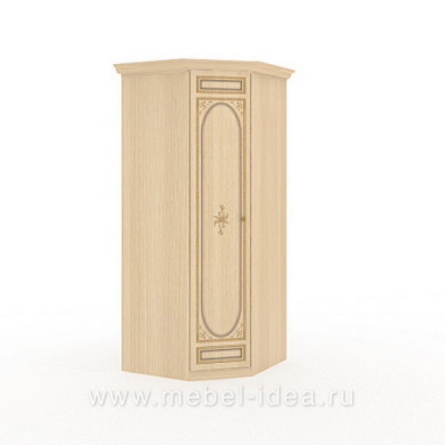 """Марта-М Беж"" Шкаф угловой 1-дверный - 896"