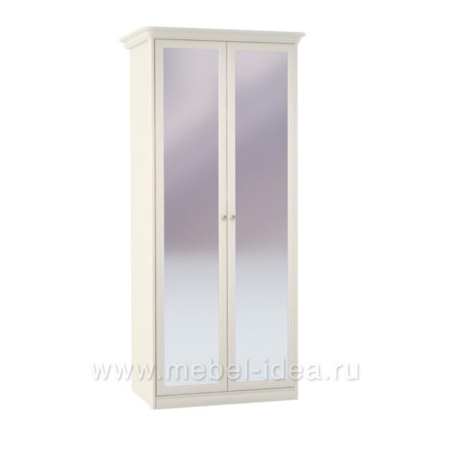"""""""Tiffany Ясень"""" Шкаф 2дв. с зерк. - 5219"""