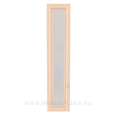 """Сюита Rose"" 371.1901-RL Дверь стеклянная для стеллажа 371.19 левая - 3024"