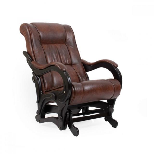 """Кресло для отдыха """"Лидер"""", Модель 77 Венге/Анти крокодил - 6114"""