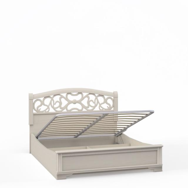 """""""Tiffany Ясень"""" Кровать 2сп. с подъемным мех.(1600мм) вставка ясень - 5203"""