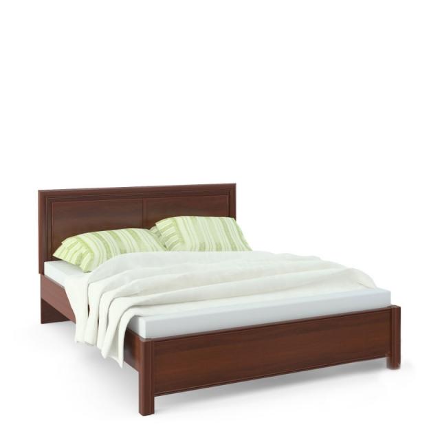 """""""Камелия"""" AP1-01.F1L, Кровать 2 сп. изг. прямоуг. (1600мм) - 4945"""