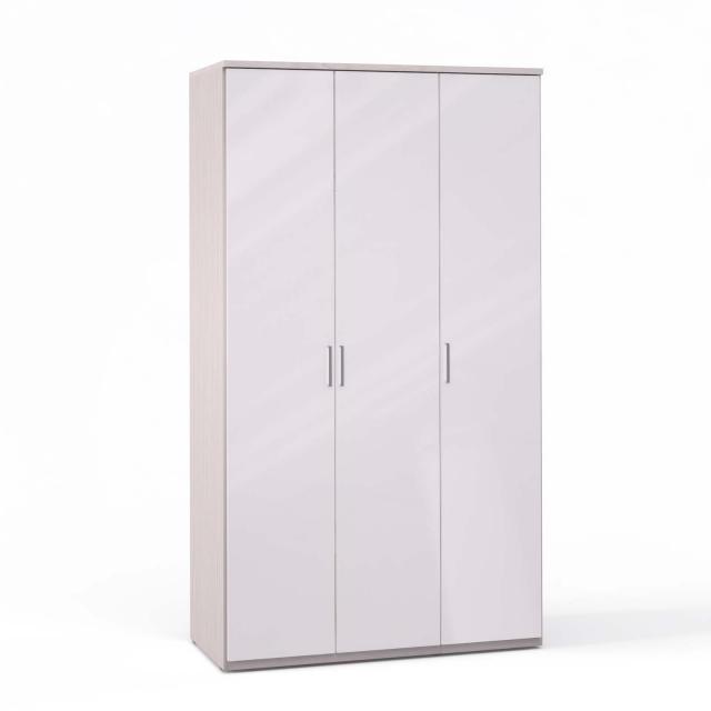 Спальня Rimini Ice Шкаф 3 дв. (1+2) - 5488