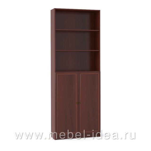 """""""Александрия"""" Шкаф 2-дверный с раскл., ниша с полками - 2862"""