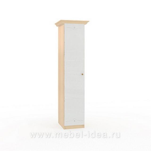 """Марта-М Беж"" Шкаф 1-дверный с зерк. - 919"