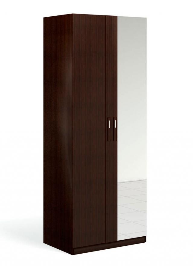 """""""Блюз"""" Шкаф для одежды 2-дверный c зеркалом - 3161"""