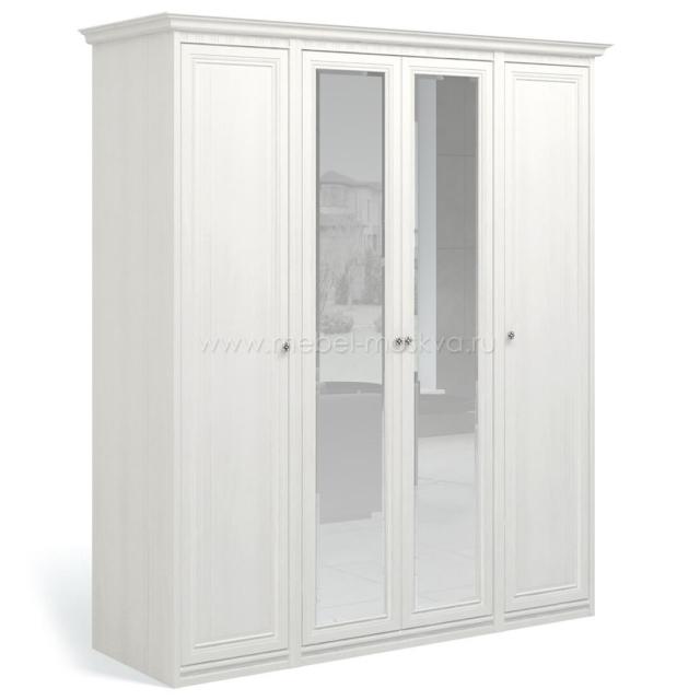 """""""Рапсодия ИДА"""" И355.16 Шкаф для одежды и белья 4-х дв. 2 зеркала - 6462"""
