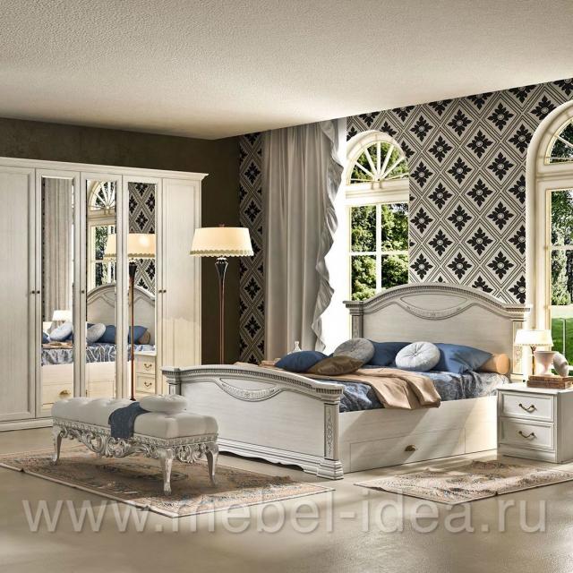 Спальня Лючия Светлая - 1008
