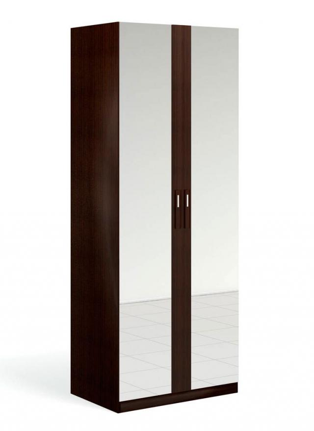 """""""Блюз"""" Шкаф для одежды 2-дверный c 2-мя зеркалами - 3162"""