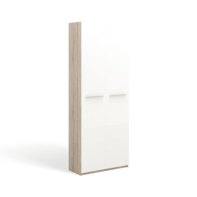 """SOLO Белый глянец 393.71-DB Шкаф 2 дв. / фасад """"глянец"""" - 4720"""