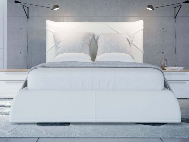 SOLO Белый глянец 800.0818-B Кровать для подъемного основания  1800*2000 - 4675
