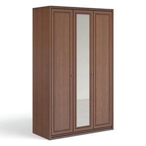 """""""Рапсодия Ю"""" Ю355.19 Шкаф для одежды и белья 3-х дв. 1 зеркало - 6355"""
