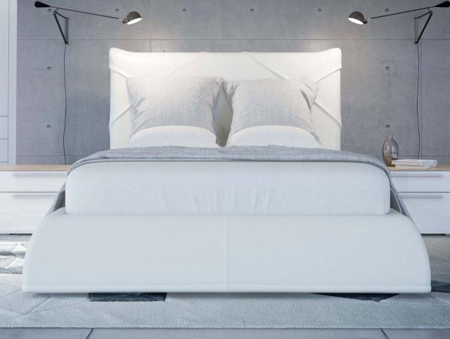 SOLO Белый глянец 800.0814-B Кровать для подъемного основания  1400*2000 - 4673