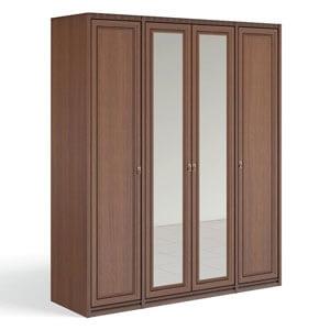 """""""Рапсодия Ю"""" Ю355.16 Шкаф для одежды и белья 4-х дв. 2 зеркала - 6353"""