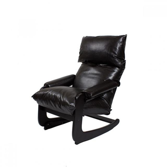 Кресло-трансформер Модель 81 (с откидывающейся спинкой и регулируемым подголовником) Венге/Brown - 6155