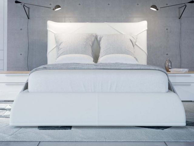 SOLO Коричневый глянец 800.0816-K Кровать для подъемного основания  1600*2000 - 4677