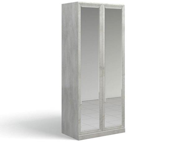 Ария Светлая Шкаф для одежды 2 зеркала 701.01ZZ-B - 4095