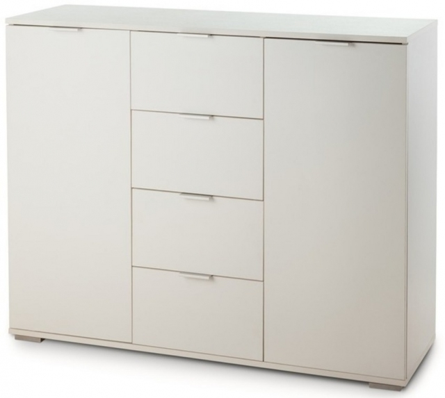 Комод НК-4 белый - 5948