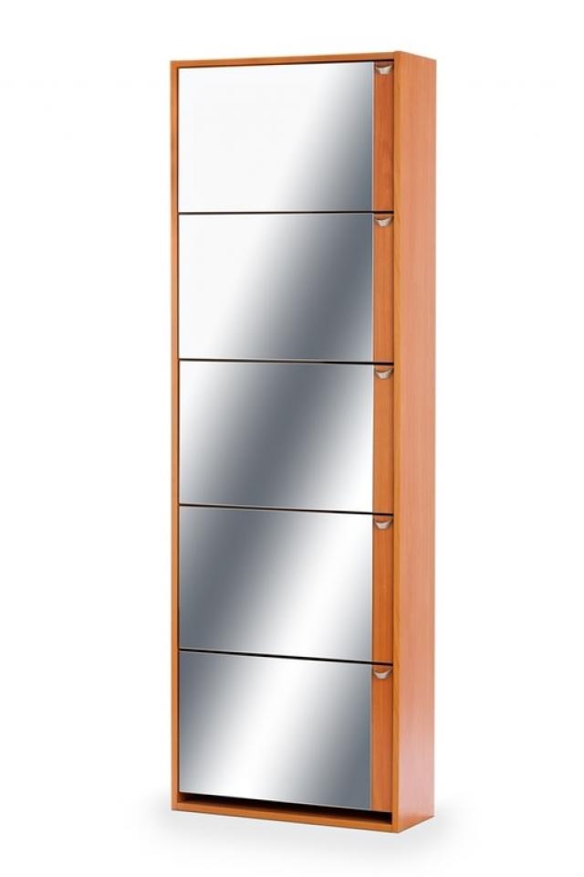 Тумба для обуви К-5 (зеркальная) вишня - 5988