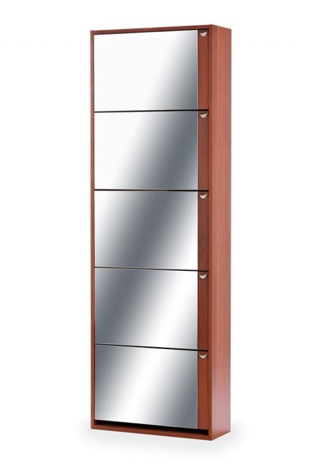 Тумба для обуви К-5 (зеркальная) итальянский орех - 5989