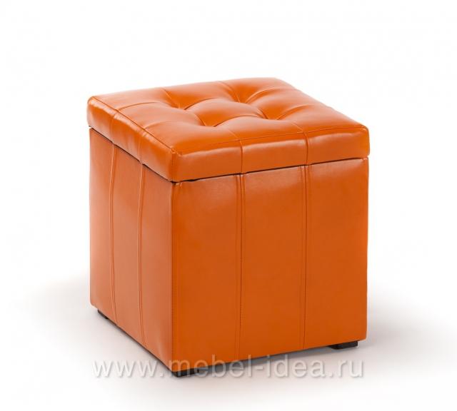 Пуф ПФ-2 оранжевый - 3747