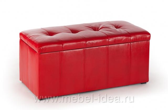 Пуф ПФ-3 красный - 3756