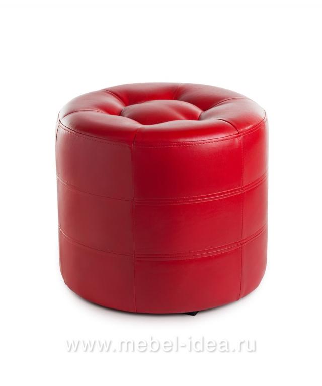 Пуф ПФ-7 красный - 3742